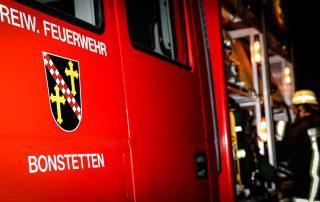 Feuerwehr Bonstetten Hasenberghof Einsatz