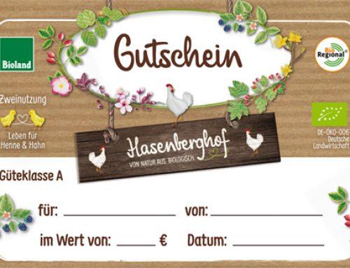 Hasenberghof-Gutscheine