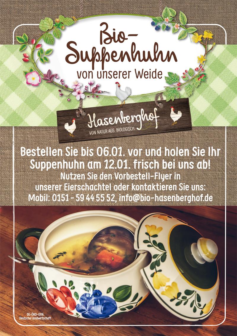 Hasenberghof Vorbestellung Suppenhühner