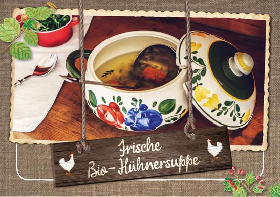 Rezept Suppenhuhn Hasenberghof
