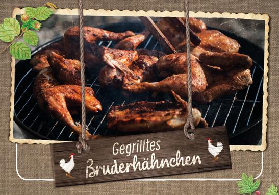 Rezeptidee für Bruderhähnchen vom Hasenberghof. Bruderhähnchen gegrillt