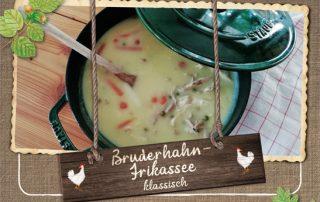 Hasenberghof Bruderhahn Rezept Frikassee Klassisch