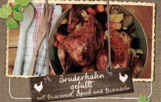 Hasenberghof Bruderhahn Rezept Maronen
