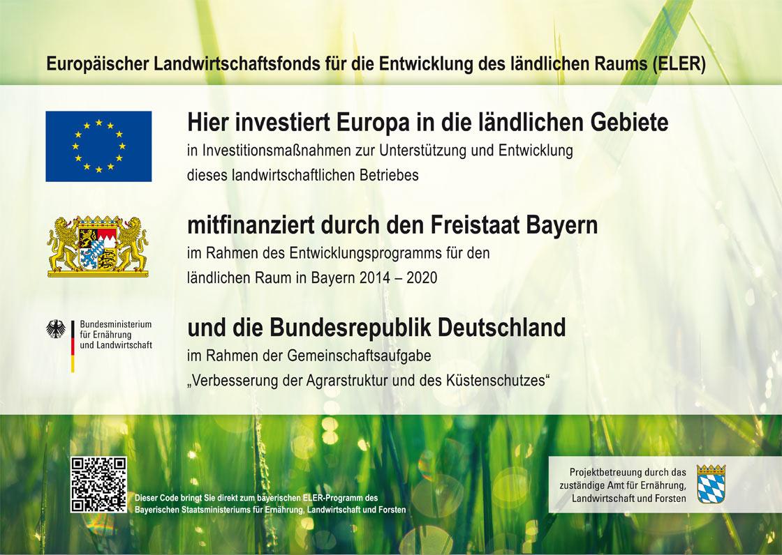 Europäischer Landwirtschaftsfonds für die Entwicklung des ländlichen Raums (ELER)